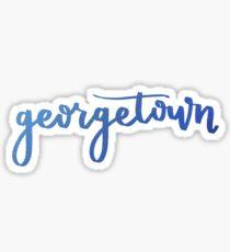 georgetown Sticker