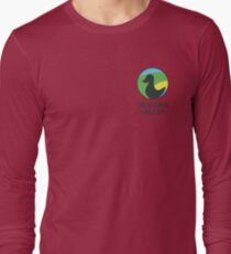 Siligong Valley logo w/text black T-Shirt