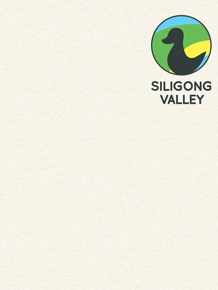 Siligong Valley logo w/text black by Beermogul