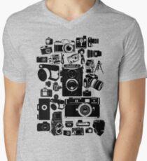 Cameras Men's V-Neck T-Shirt