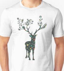 Cute Christmas Deer Unisex T-Shirt
