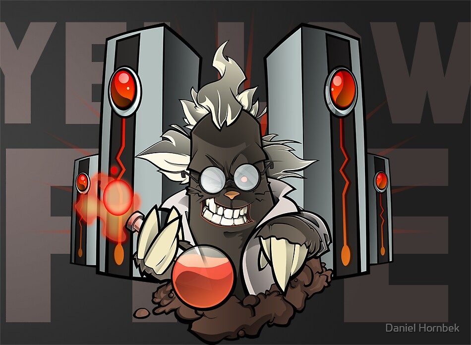 Commission : Mad Scientist Mole by yellowfive