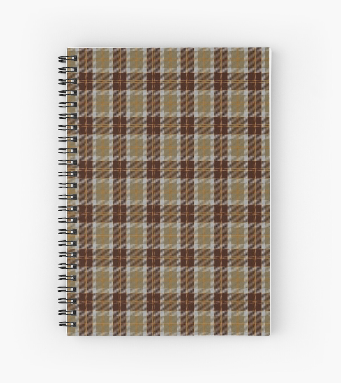 00763 Bannockbane Orange Stripe Tartan by Detnecs2013