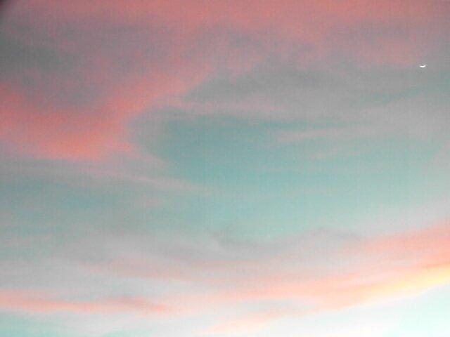 Sweeping Clouds by Rebecca Laffar-Smith