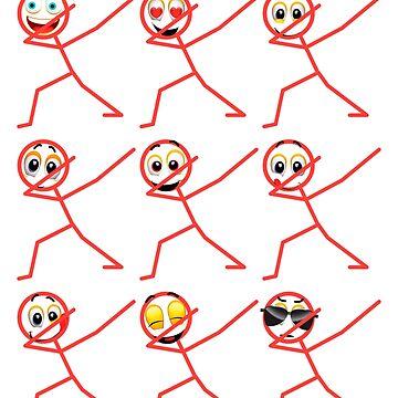 Icon Face Emoji Funny Emotion by bestdesign4u
