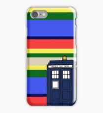 Tom Bakers TARDIS iPhone Case/Skin