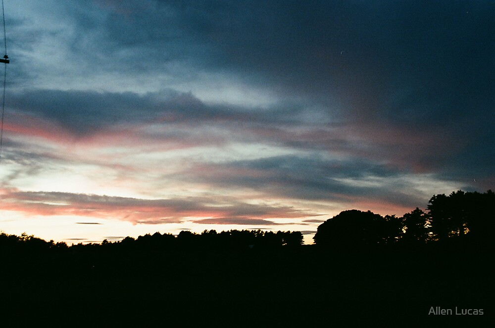 Maine Sunset by Allen Lucas