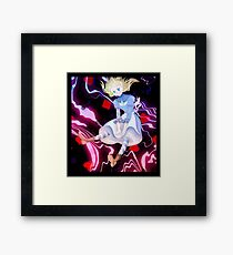 Come Down The Rabbit Hole Framed Print