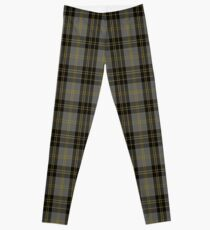 00761 Bannockbane Grey #3 Tartan  Leggings