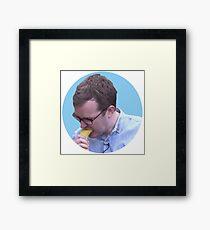 Griffin Mcelroy Vores a Banana Framed Print
