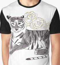 Tiger + Carnation Graphic T-Shirt