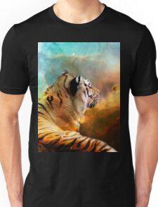 Tiger and Nebula Unisex T-Shirt