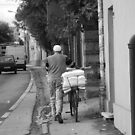 The man and the bike by julie08