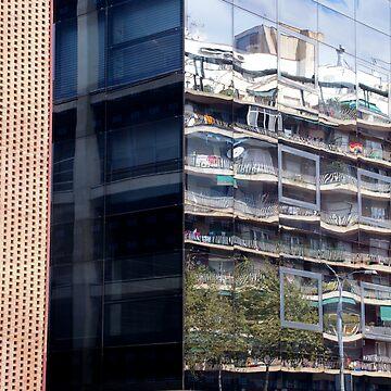 Barcelona's reflection 002 by millotaurus