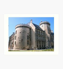 French Chateau Art Print