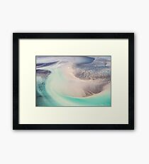 Pastel Patterns Framed Print
