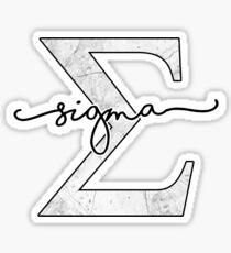 Sigma Sticker