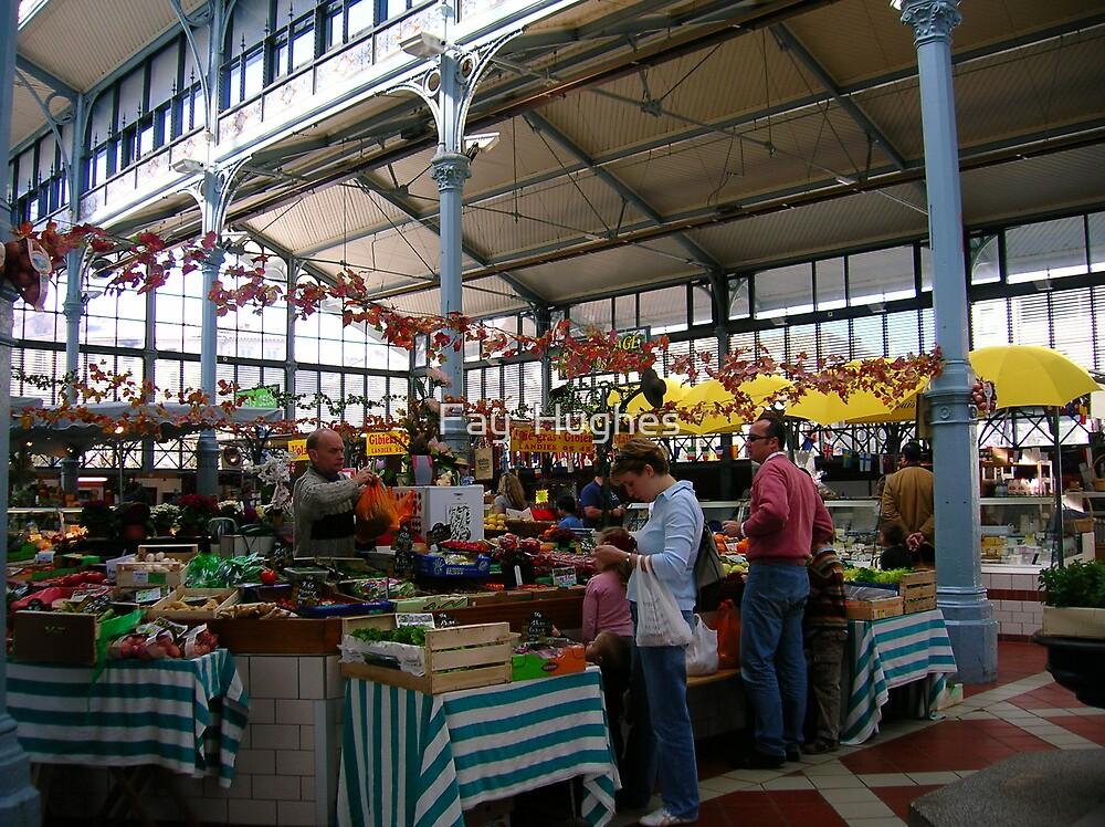 Indoor market by Fay  Hughes