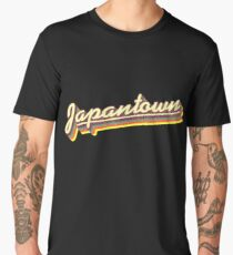 Japantown | Retro Rainbow Men's Premium T-Shirt