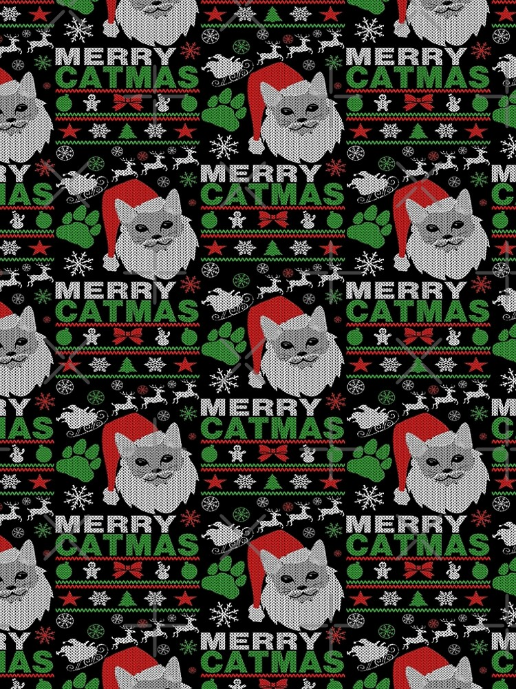Merry Catmas Ugly Christmas by EthosWear