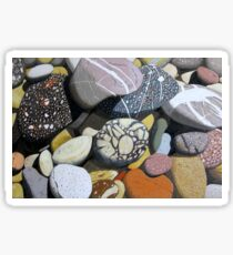 Coastal Rocks Sticker