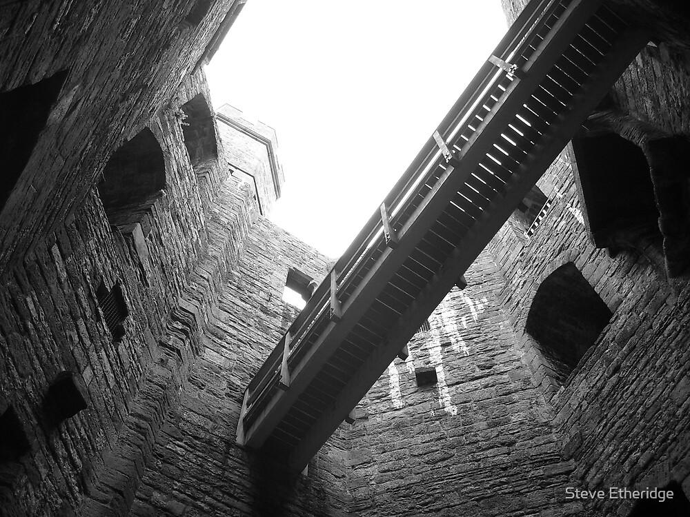 Caernarfon Castle  by Steve Etheridge