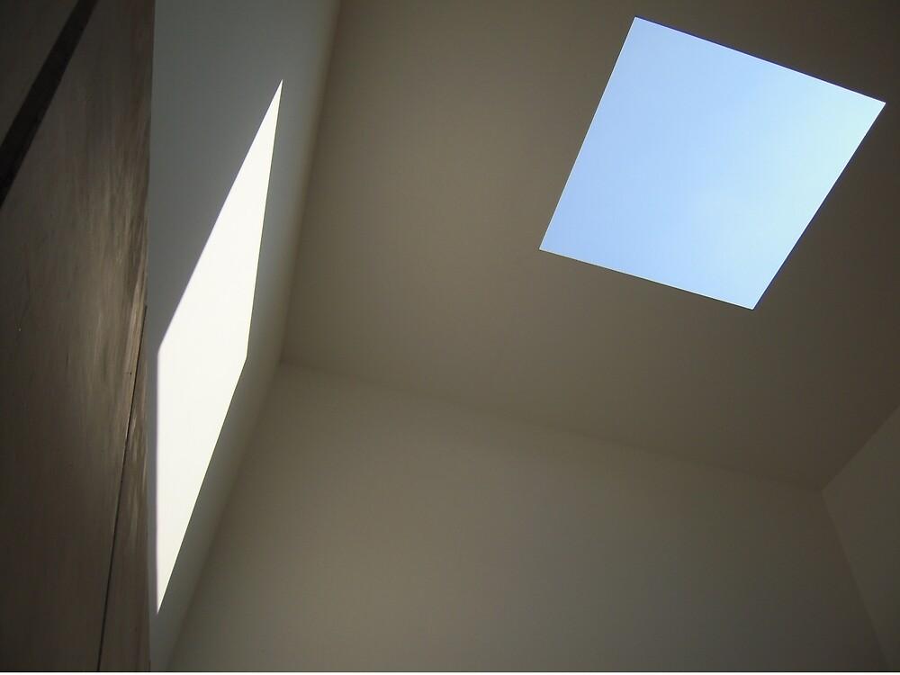 Blue Sky, White Light by Graham Geldard