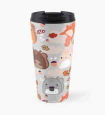 Kawaii Squirrels Travel Mug