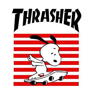 Snoopy Skateboard by SaraSuke