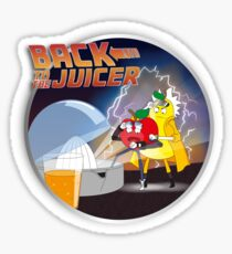 Back to the Juicer Sticker