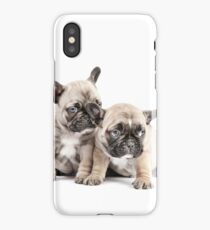 Frenchie Puppy Pals iPhone Case