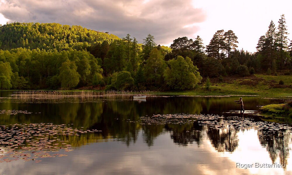 Lochan Mor by Roger Butterfield