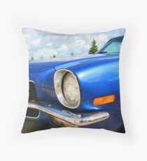 73 Camaro Throw Pillow