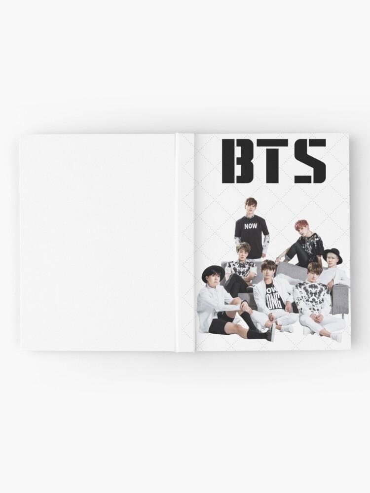 Alternative Ansicht von BTS-Gruppe Notizbuch