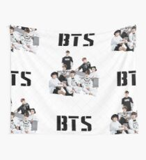 BTS Group Wall Tapestry