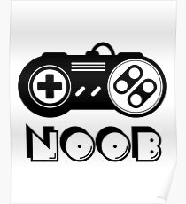 Noob gamer – e sports Poster