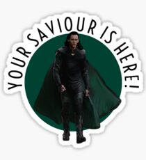 your saviour is here Sticker