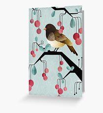 Bird, Watching Greeting Card