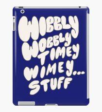 Wibbly Wobbly iPad Case/Skin