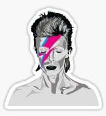 Aladdin Sane - David Bowie  Sticker