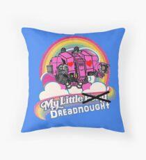 My Little Dreadnought Throw Pillow