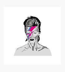 Aladdin Sane - David Bowie  Photographic Print