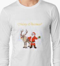 Santa Claus and Rudolph T-Shirt