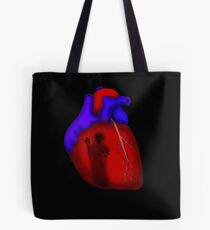 Living With Ghosts Tote Bag