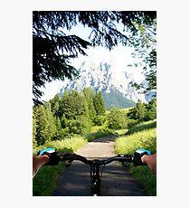 Mountain bike Trail Photographic Print