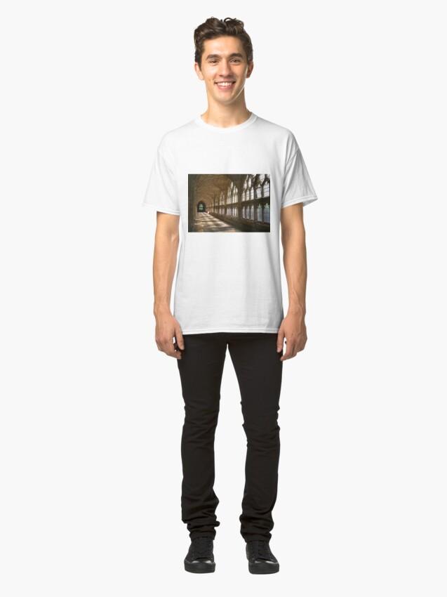 Alternate view of Cloister Shadows Classic T-Shirt