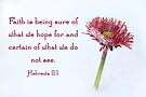 Hebrews 11:1 by Samantha Higgs