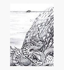 Inktober - Deep #2 Photographic Print