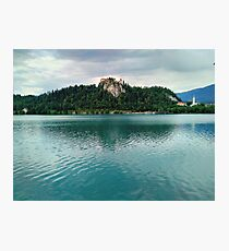 The Magical Lake Bled (Slovenia) Photographic Print