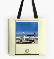 Scooter Poster Surf Scooter Society Tote Bag